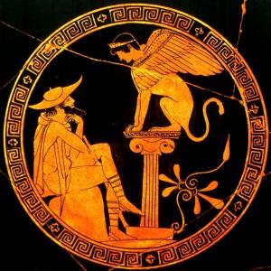 Oedipe et le Sphinx Musée du Vatican